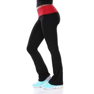 FOLD -OVER YOGA PANTS PC0004-08